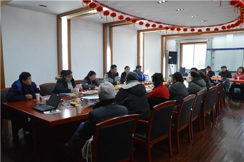 区文明办领导与和平公园领导班子开展志愿者服务基地工作座谈会