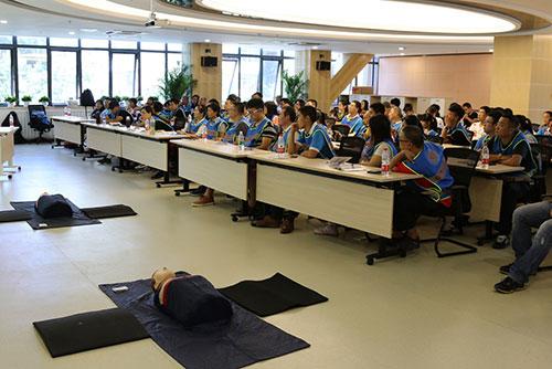 1-2016年度北京应急志愿者进阶培训顺利举行
