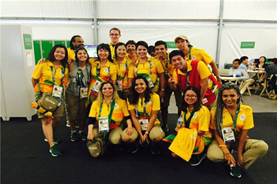 Volunteers at Rio 2016 Olympic Games