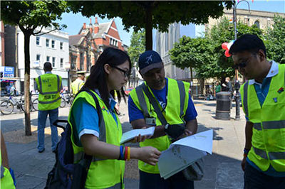 Volunteers at London Olympic Games