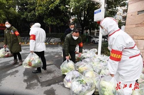 社區戰(zhan)疫(yi)志願者在行動